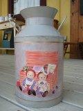 ANN&ANDYミルク缶 W200×H310×D200  *装飾品 *現品限り。