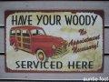 28595-A Service Tin Signs(A) W400×H250