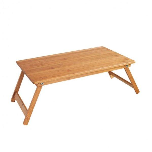 画像1: バカンス 折りたたみバンブーローテーブル  w600×d300×h220 (天板500×300)
