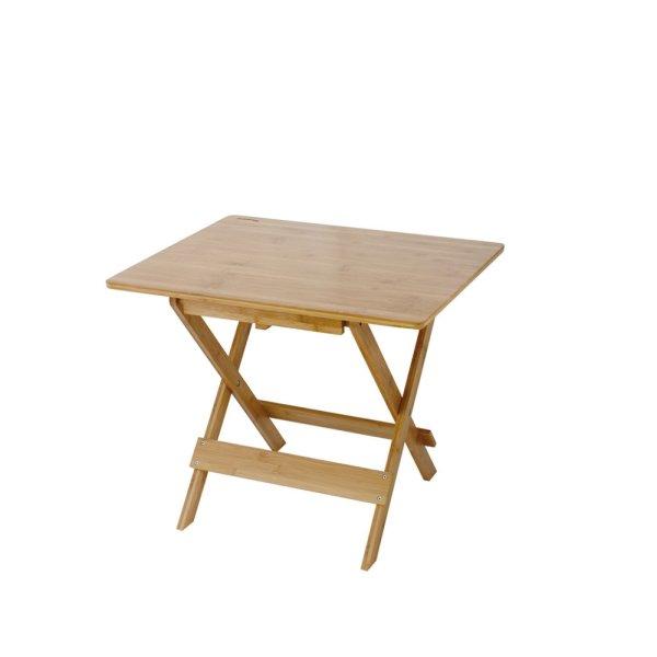 画像1: バカンス 折りたたみバンブーテーブル ミドル w600×d500×h495
