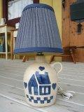 陶器ハウスランプS USA製(電球別売) W180×H350×D180