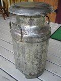 アンティークMILK ミルク缶 W260×H530×D260 *現品限り品