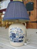 陶器ラビット家族ランプL USA製(電球別売) W310×H460×D310