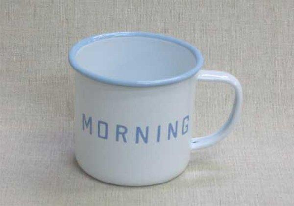 画像1: HS163 ホーローマグカップ サイズ/w12×d9×h8cm *